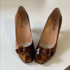 Leather Anyilu high heels